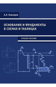 Основания и фундаменты в схемах и таблицах